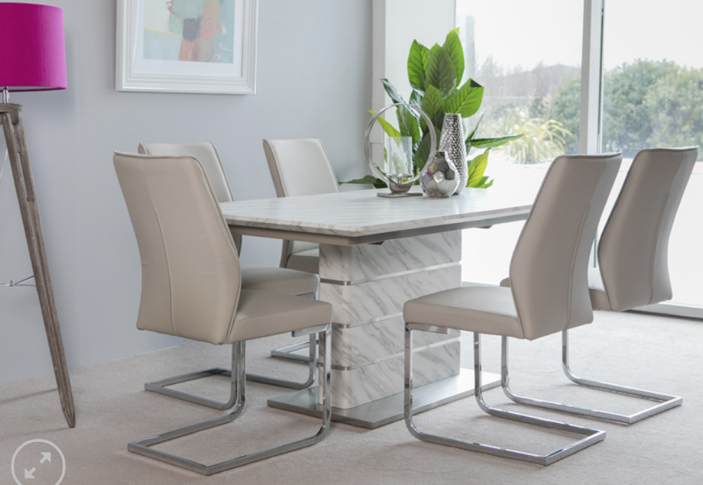 andrew dining table and chairs