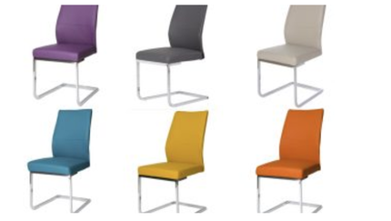 Rory dining chair - choice of colours