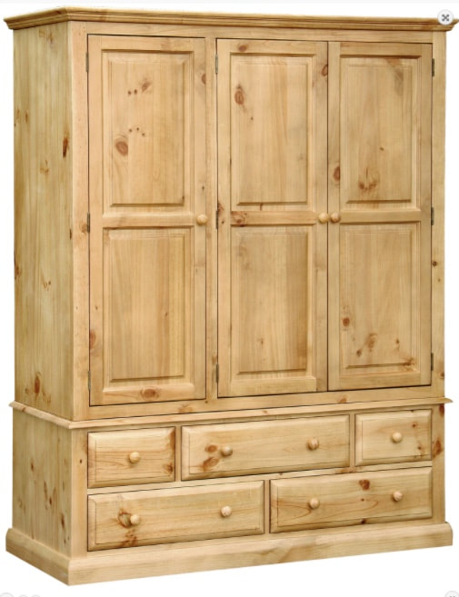 KENMARE 3 DOOR 5 DRAWER