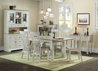 beverley dining table and chairs