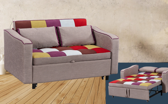 Legend sofa bed patchwork